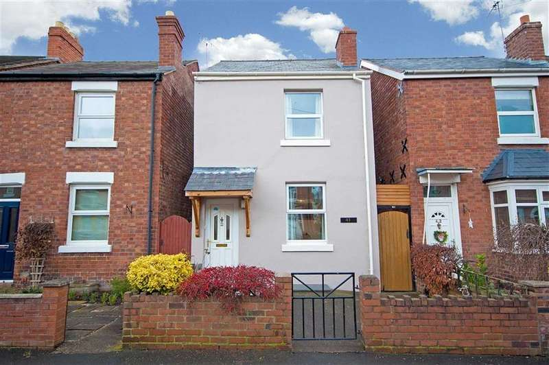 3 Bedrooms Detached House for sale in Percy Street, Greenfields, Shrewsbury, Shropshire