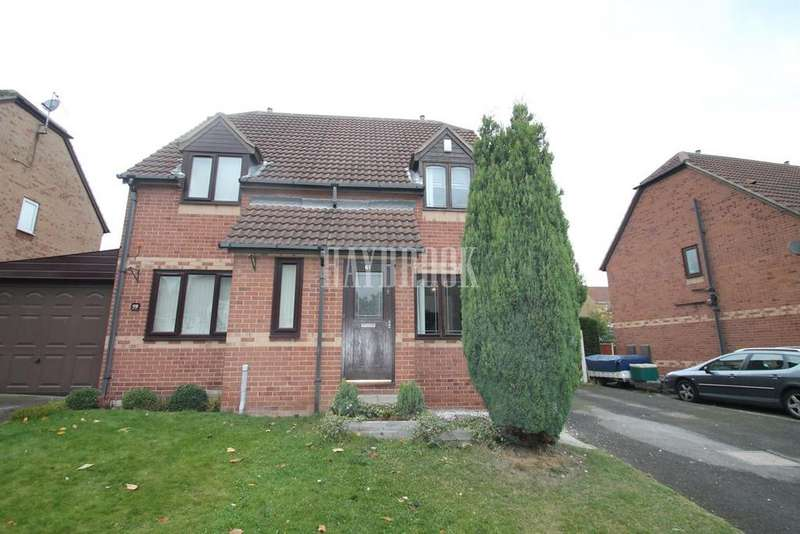 2 Bedrooms Semi Detached House for sale in Brookfield Close,Dalton, Rotherham