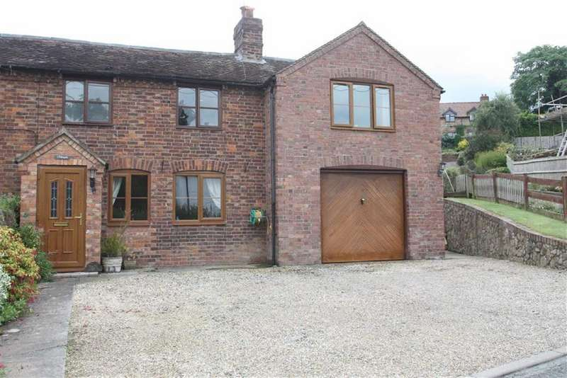 3 Bedrooms Semi Detached House for sale in Polesgate, Pontesbury Hill, Shrewsbury