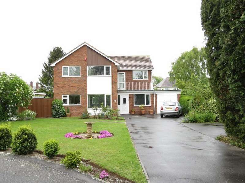 5 Bedrooms Detached House for sale in Chestnut Close, Copthorne, Shrewsbury, Shropshire