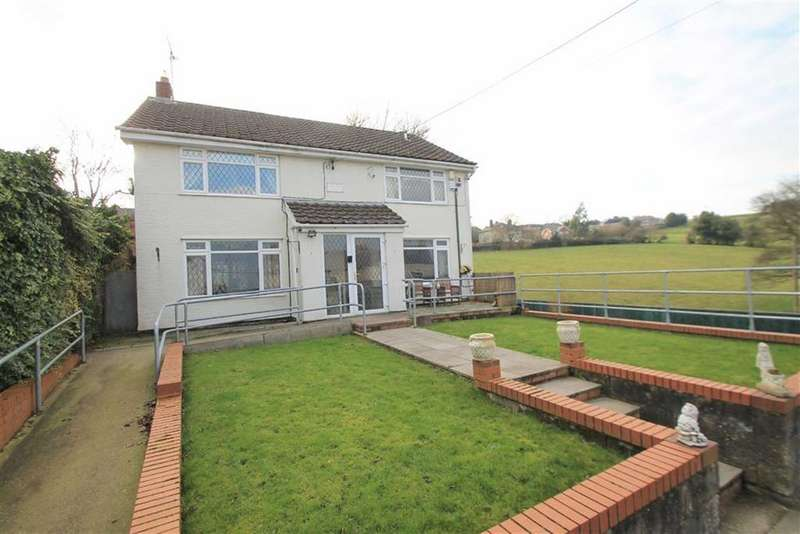 4 Bedrooms Detached House for sale in Wern, Brymbo, Wrexham