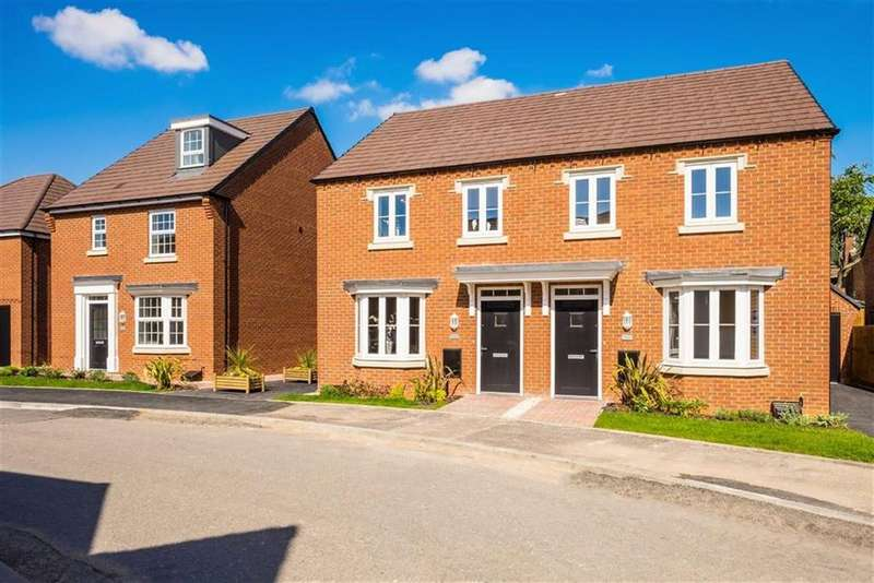3 Bedrooms Semi Detached House for sale in Doseley Park, Doseley, Telford