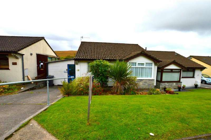 2 Bedrooms Semi Detached Bungalow for sale in Heol Y Gors, Cwmgors, Ammanford