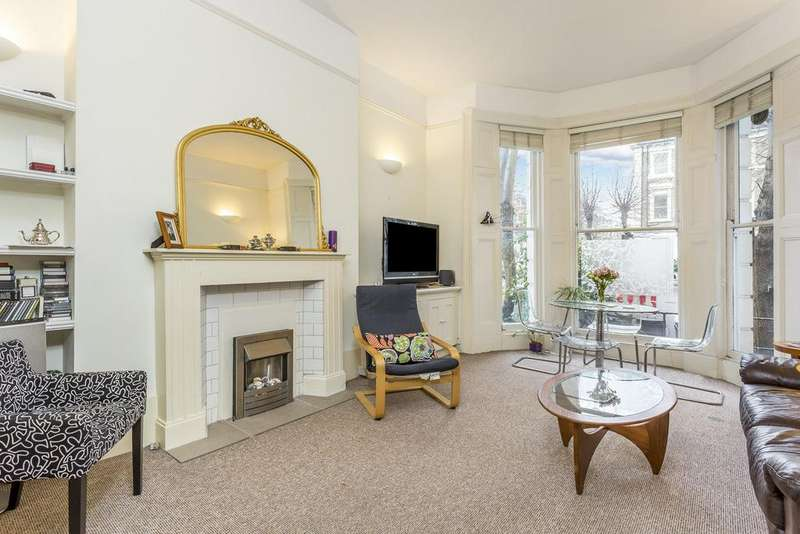 2 Bedrooms Ground Flat for sale in Elsham Road, Kensington, London, W14