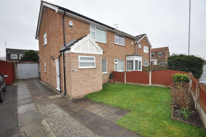 2 Bedrooms Semi Detached House for sale in Millhouse Lane, Moreton, Wirral, CH46 6HP