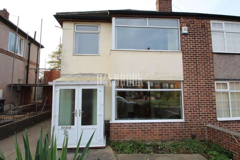3 Bedrooms Semi Detached House for sale in Swanbourne Road, Sheffield Lane Top