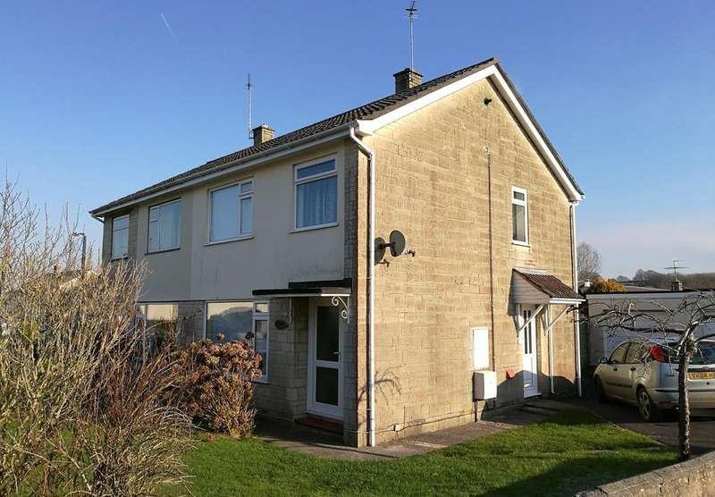 3 Bedrooms Semi Detached House for sale in Riverside Gardens, Midsomer Norton