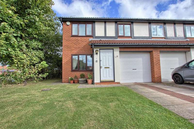 3 Bedrooms Semi Detached House for sale in Romney Close, Redcar