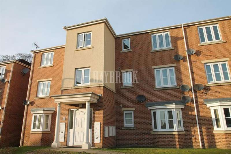 2 Bedrooms Flat for sale in Garden Close, Moorgate