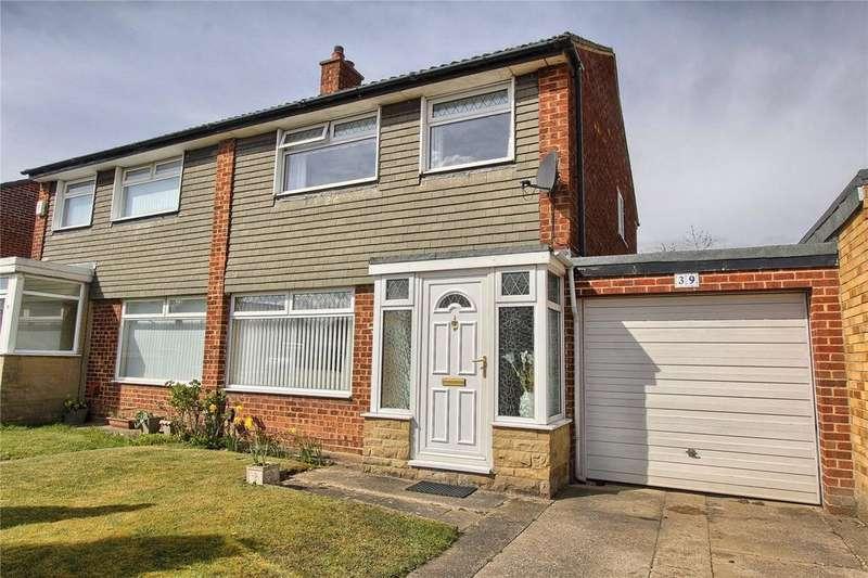 3 Bedrooms Semi Detached House for sale in Brafferton Drive, Billingham