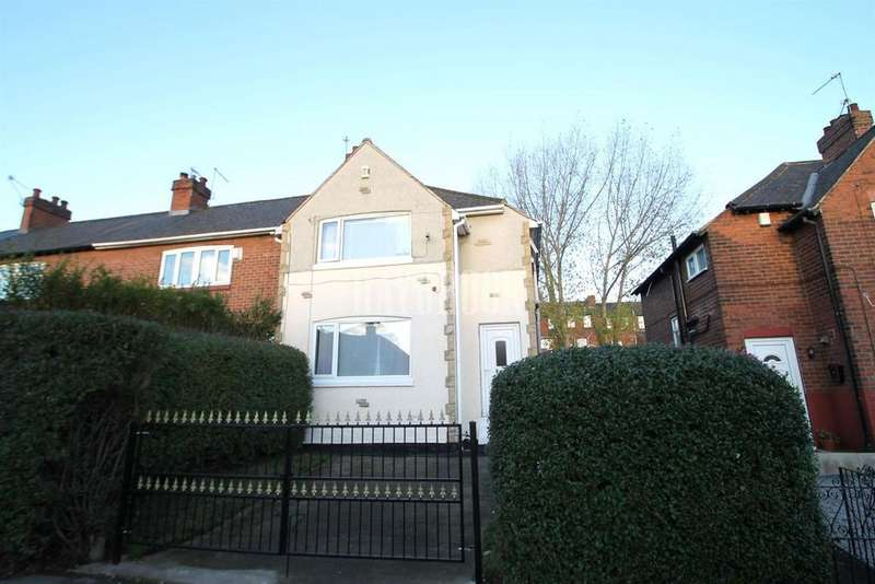 3 Bedrooms End Of Terrace House for sale in North Road, East Dene