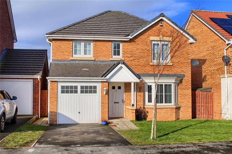 4 Bedrooms Detached House for sale in The Covert, Coulby Newham