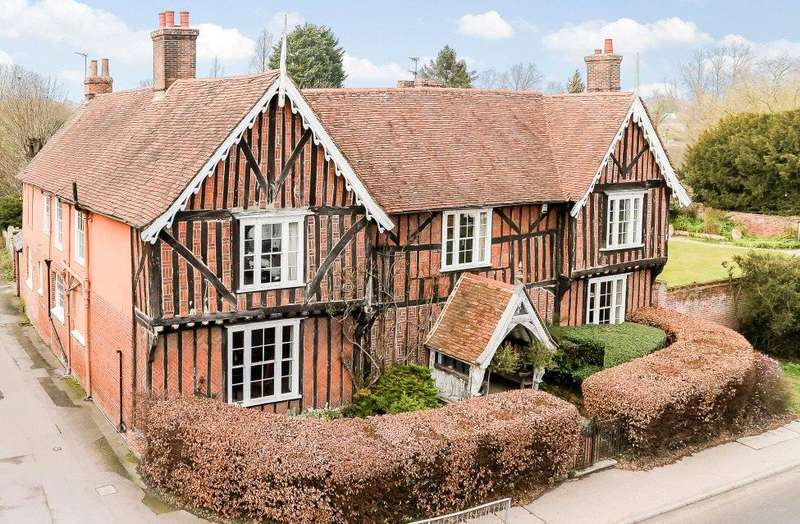5 Bedrooms Detached House for sale in Hall Street, Long Melford, Sudbury, Suffolk, CO10