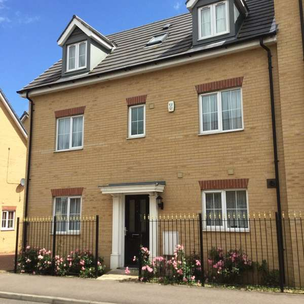 5 Bedrooms Town House for sale in Maskell Dr, Bedford, Bedfordshire, MK41