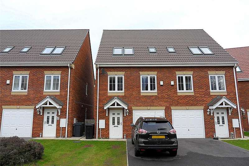 4 Bedrooms Semi Detached House for sale in Spring Place Gardens, Mirfield, West Yorkshire, WF14