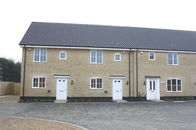 3 Bedrooms Terraced House for sale in Plot 37, Broadbeach Gardens, Stalham, Norfolk, NR12