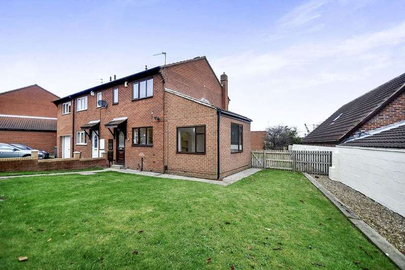 3 Bedrooms Semi Detached House for sale in Nursery Gardens, Stairfoot, Barnsley, S70