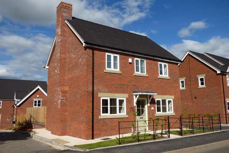 3 Bedrooms Detached House for sale in Green Farm Meadows, Seighford