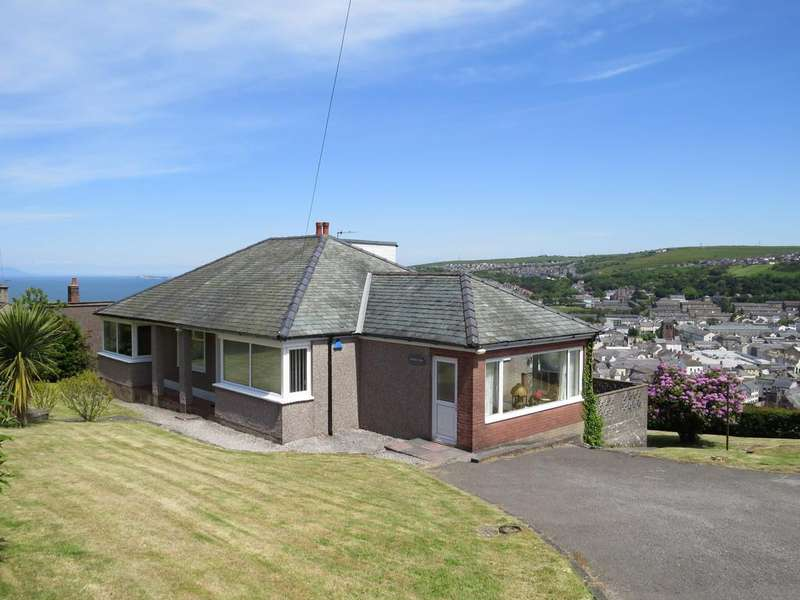 4 Bedrooms Detached Bungalow for sale in Marina View, High Road, Whitehaven, Cumbria