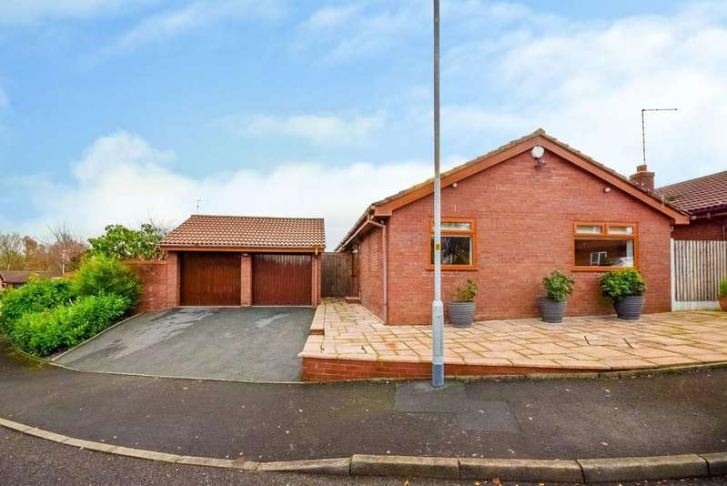 3 Bedrooms Detached Bungalow for sale in Swallow Drive, Bamford