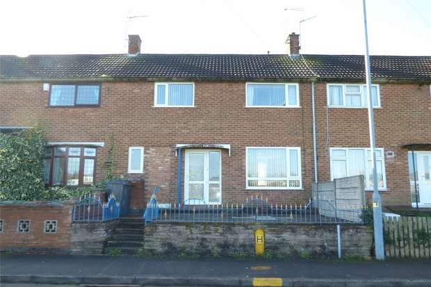 3 Bedrooms Terraced House for sale in The Dingle, Camp Hill, Nuneaton, Warwickshire