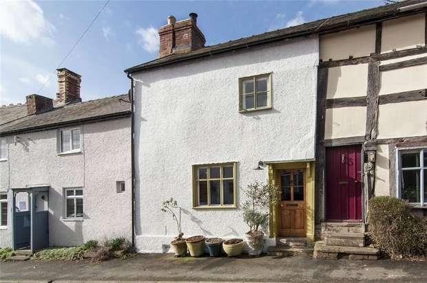 2 Bedrooms Terraced House for sale in Fern House, 22 Watling Street, Leintwardine, Shropshire