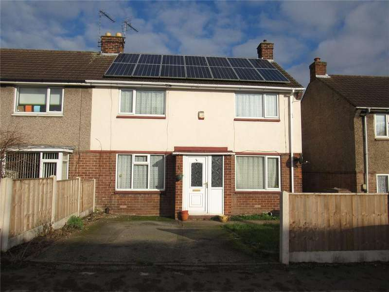 3 Bedrooms Semi Detached House for sale in Armstrong Road, Mansfield, Nottinghamshrie, NG19