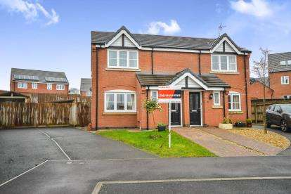 3 Bedrooms Semi Detached House for sale in Amber Grove, Sutton-in-Ashfield