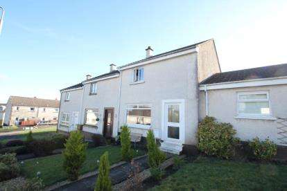 2 Bedrooms Terraced House for sale in Malloch Crescent, Elderslie, Johnstone, Renfrewshire