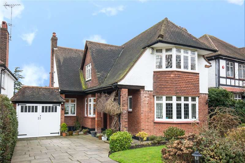 4 Bedrooms Detached House for sale in Bourne Avenue, Southgate, N14