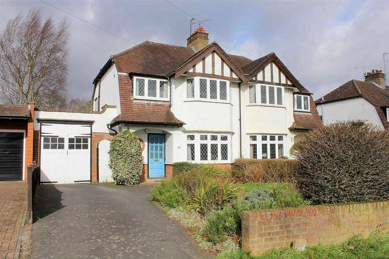 3 Bedrooms Semi Detached House for sale in 3 BED CHARACTER PROPERTY WITH 170` GARDEN IN Adeyfield Road, HP2