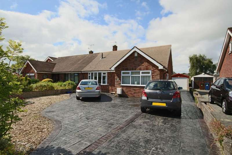 3 Bedrooms Semi Detached Bungalow for sale in Hall Croft, Hutton, Preston