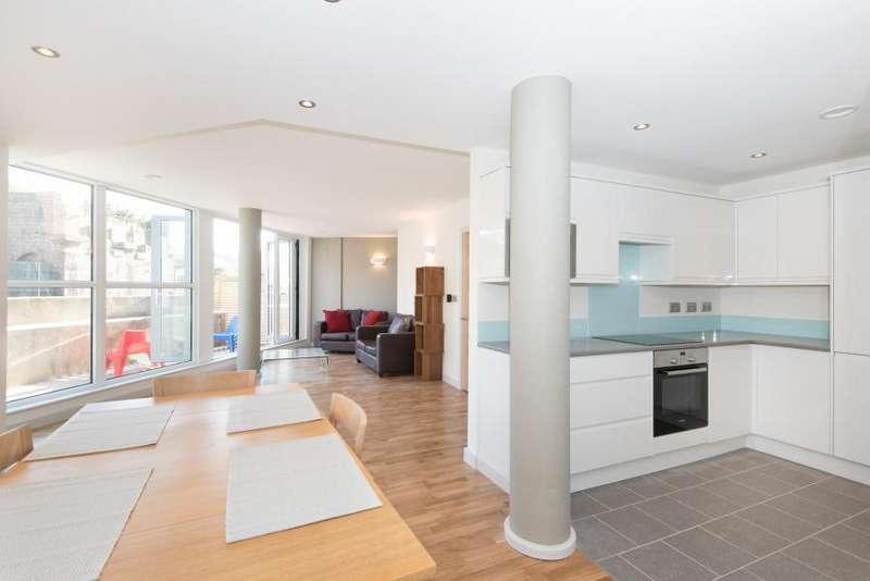 3 Bedrooms Duplex Flat for sale in London Road, Brentford TW8