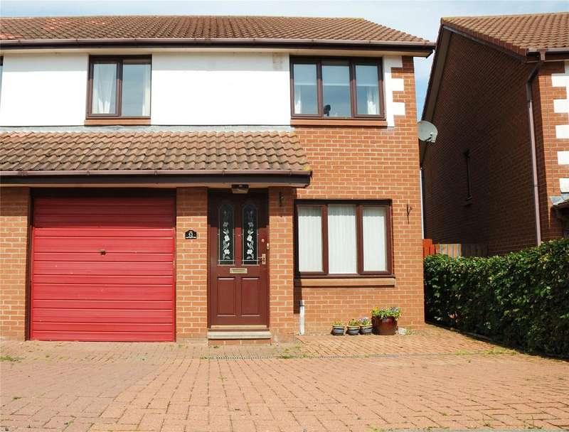 3 Bedrooms Semi Detached House for sale in Goldstone, Tweedmouth, Berwick Upon Tweed, Northumberland