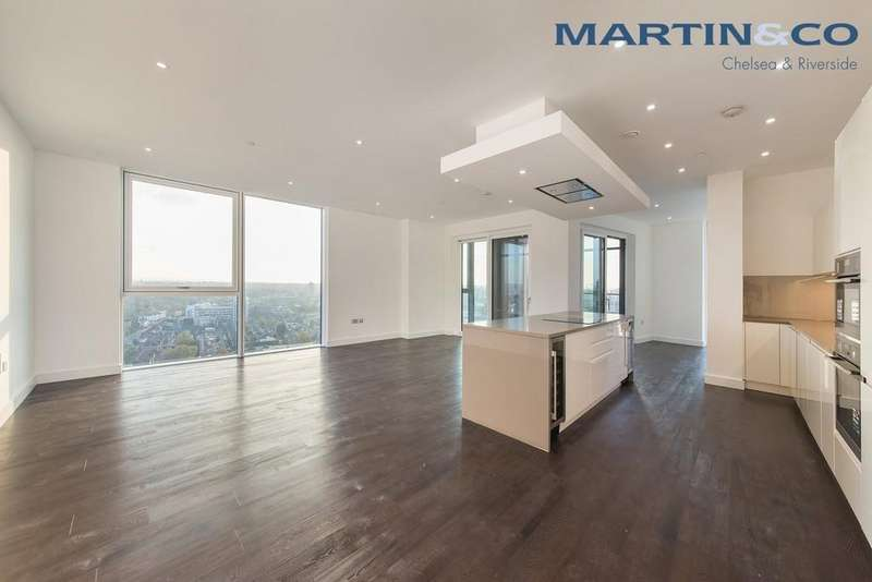 4 Bedrooms Penthouse Flat for sale in Nine Elms Point, Wandsworth Road