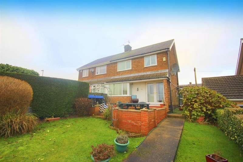 3 Bedrooms Semi Detached House for sale in Plunkett Terrace, Pelton Fell, Chester Le Street