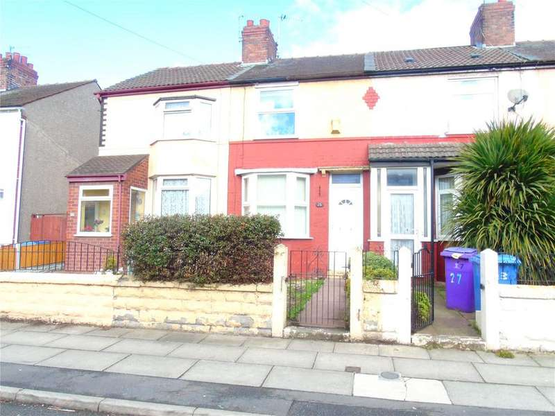 2 Bedrooms Terraced House for sale in Pirrie Road, Walton, Merseyside, L9