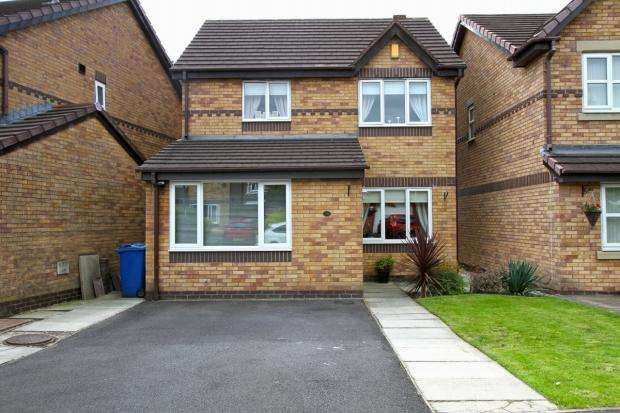 3 Bedrooms Detached House for sale in Mansart Close Ashton In Makerfield Wigan