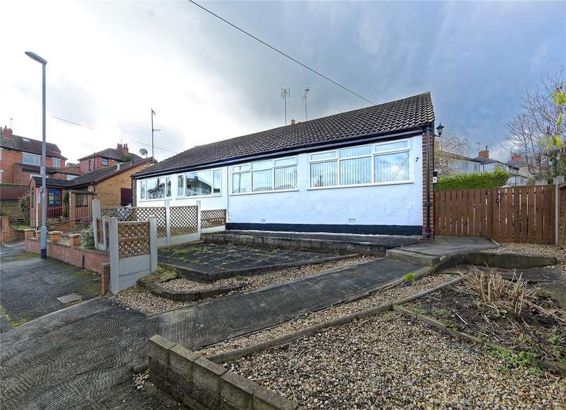 2 Bedrooms Semi Detached Bungalow for sale in Armley Ridge Close, Leeds, West Yorkshire, LS12