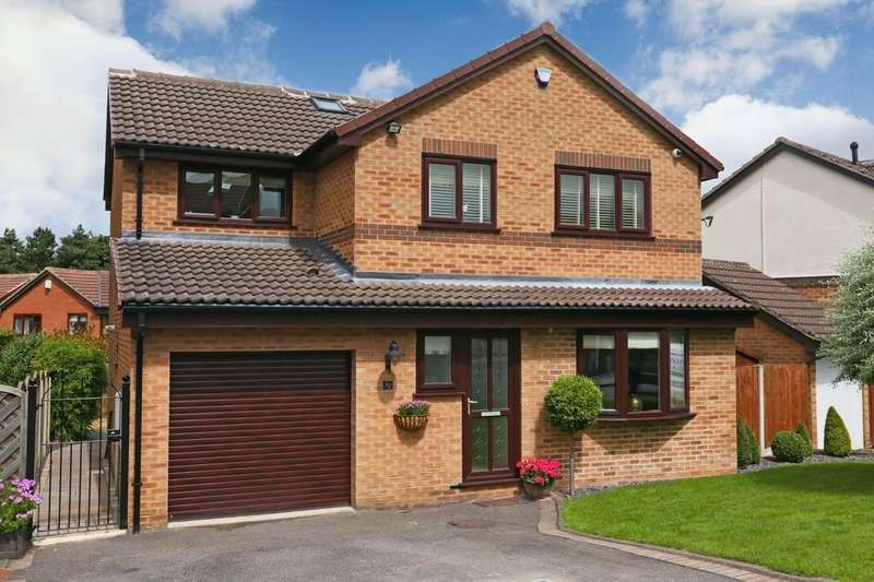 4 Bedrooms Detached House for sale in Lakeland Way, Walton, Wakefield