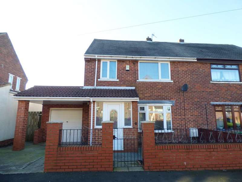 3 Bedrooms Semi Detached House for sale in Sheriffs Moor Avenue, Easington Lane, Houghton Le Spring
