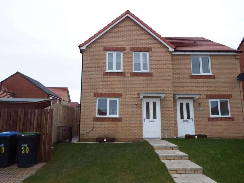 3 Bedrooms Semi Detached House for sale in Viscount Close , Stanley