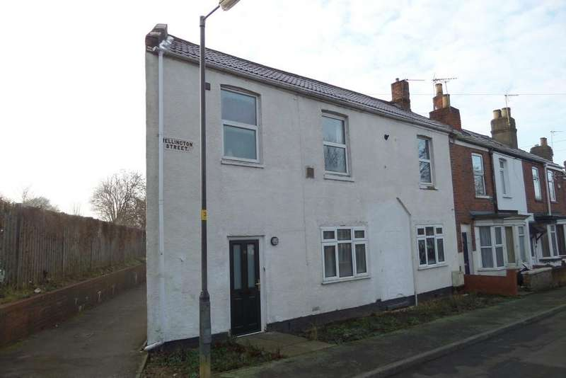 2 Bedrooms End Of Terrace House for sale in Wellington Street, Gainsborough