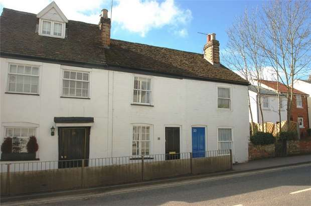 2 Bedrooms Cottage House for sale in High Street, London Colney, St Albans, Hertfordshire
