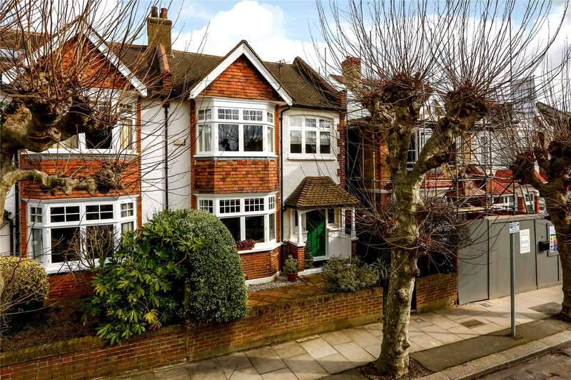 4 Bedrooms Semi Detached House for sale in Albert Grove, London, SW20