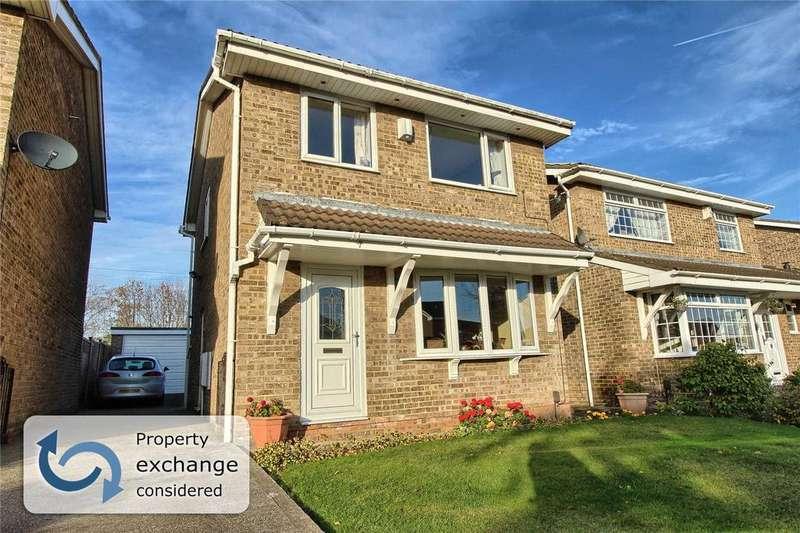 3 Bedrooms Detached House for sale in Beeford Close, Billingham