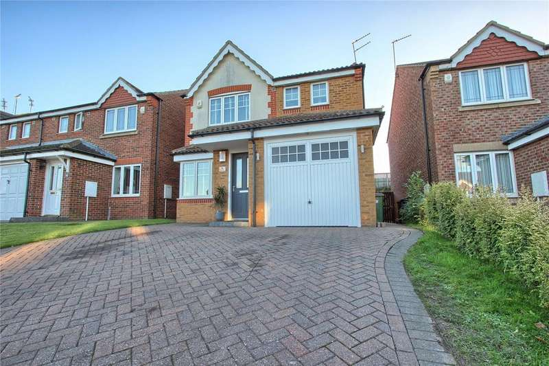 3 Bedrooms Detached House for sale in Copeland Close, Skelton