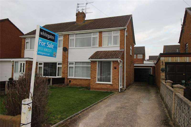 3 Bedrooms Semi Detached House for sale in Holmlands Drive, Prenton, Merseyside, CH43