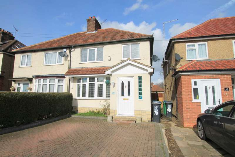 3 Bedrooms Semi Detached House for sale in Berry Avenue, North Watford
