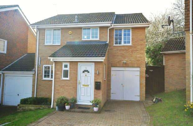 4 Bedrooms Link Detached House for sale in Maltby Way, Lower Earley, Reading,